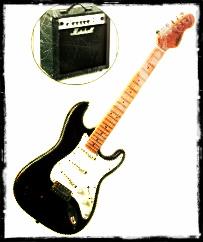 Egitarre und Amp